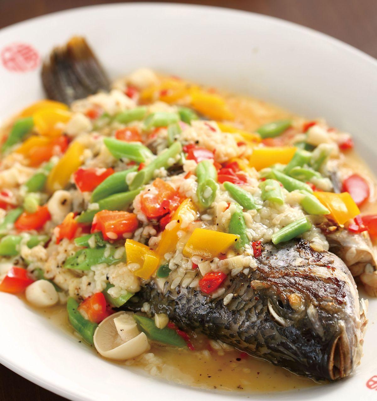 食譜:酒釀燒全魚