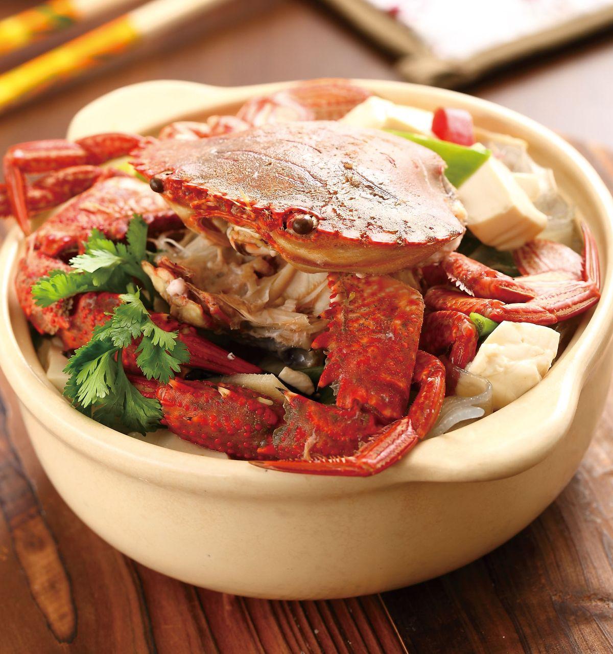 食譜:高粱豆腐螃蟹煲