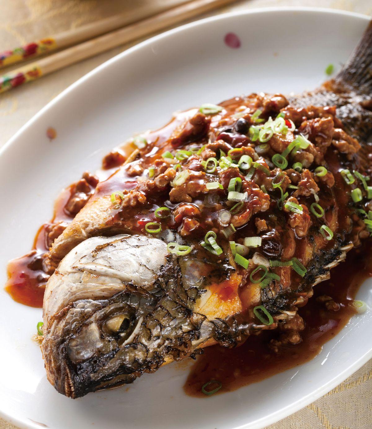 食譜:豆瓣魚(7)