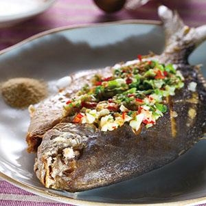 椒鹽銀鯧魚