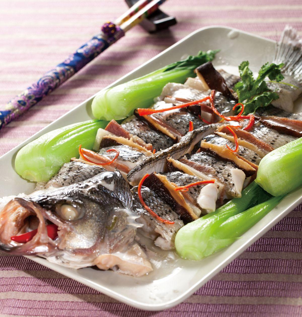食譜:清蒸麒麟魚
