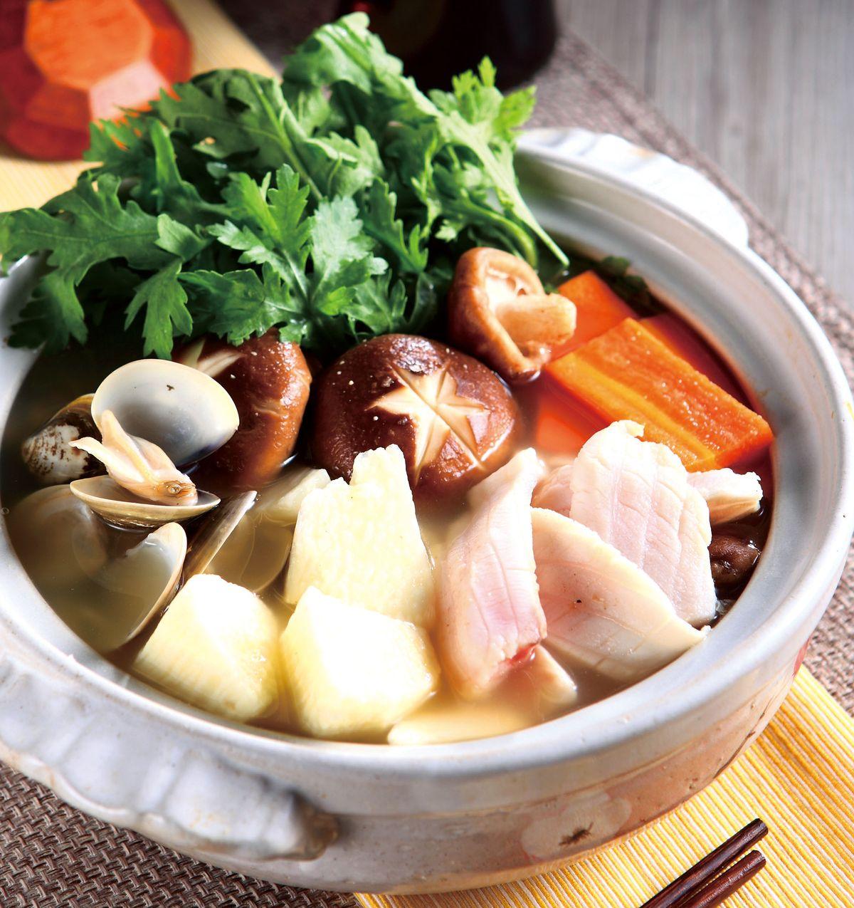 食譜:和風海鮮團圓鍋