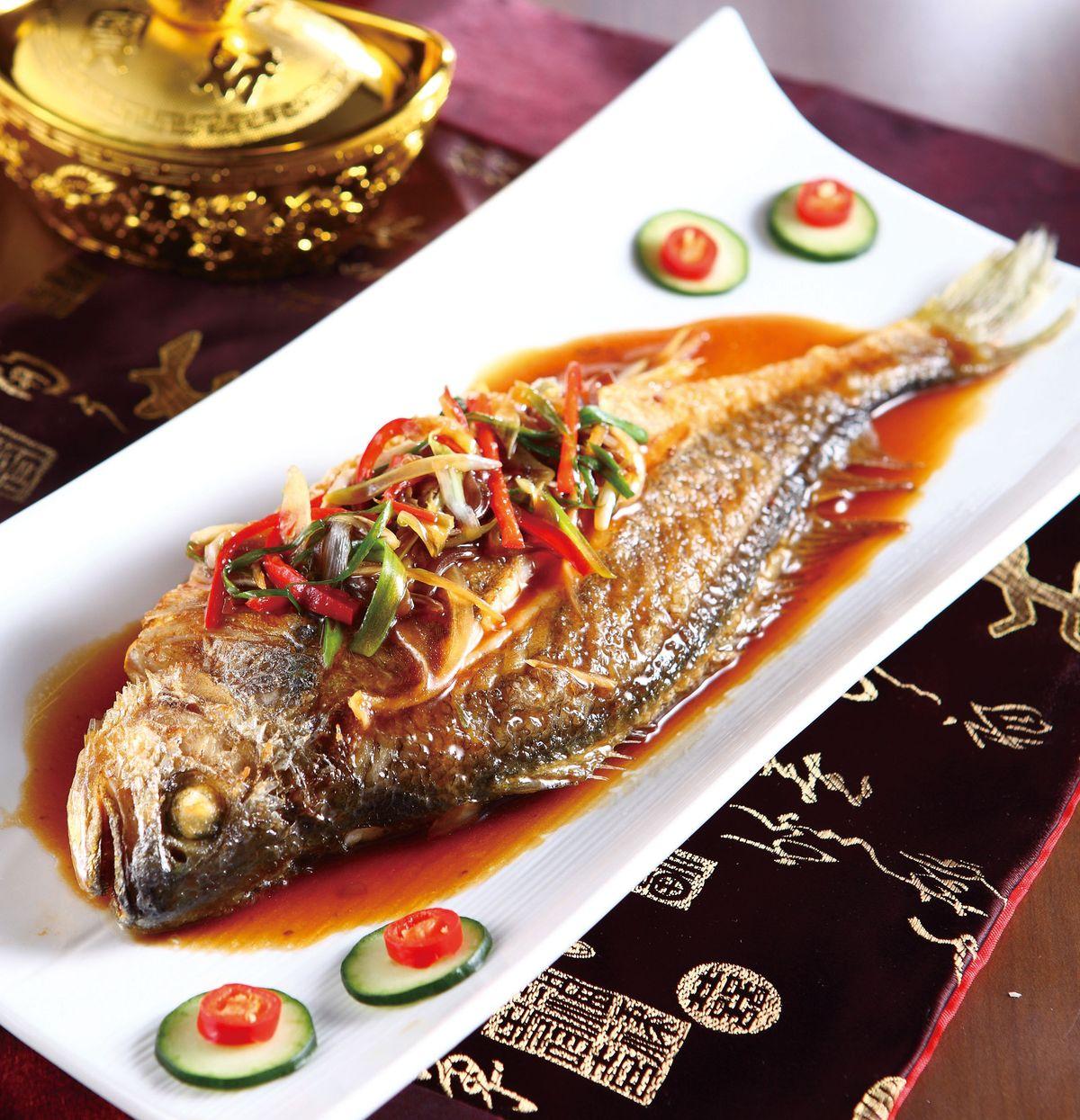 食譜:醬淋香酥魚