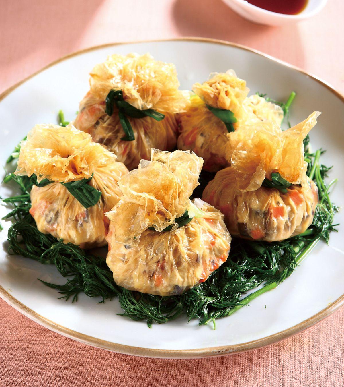 食譜:白玉豆腐福袋