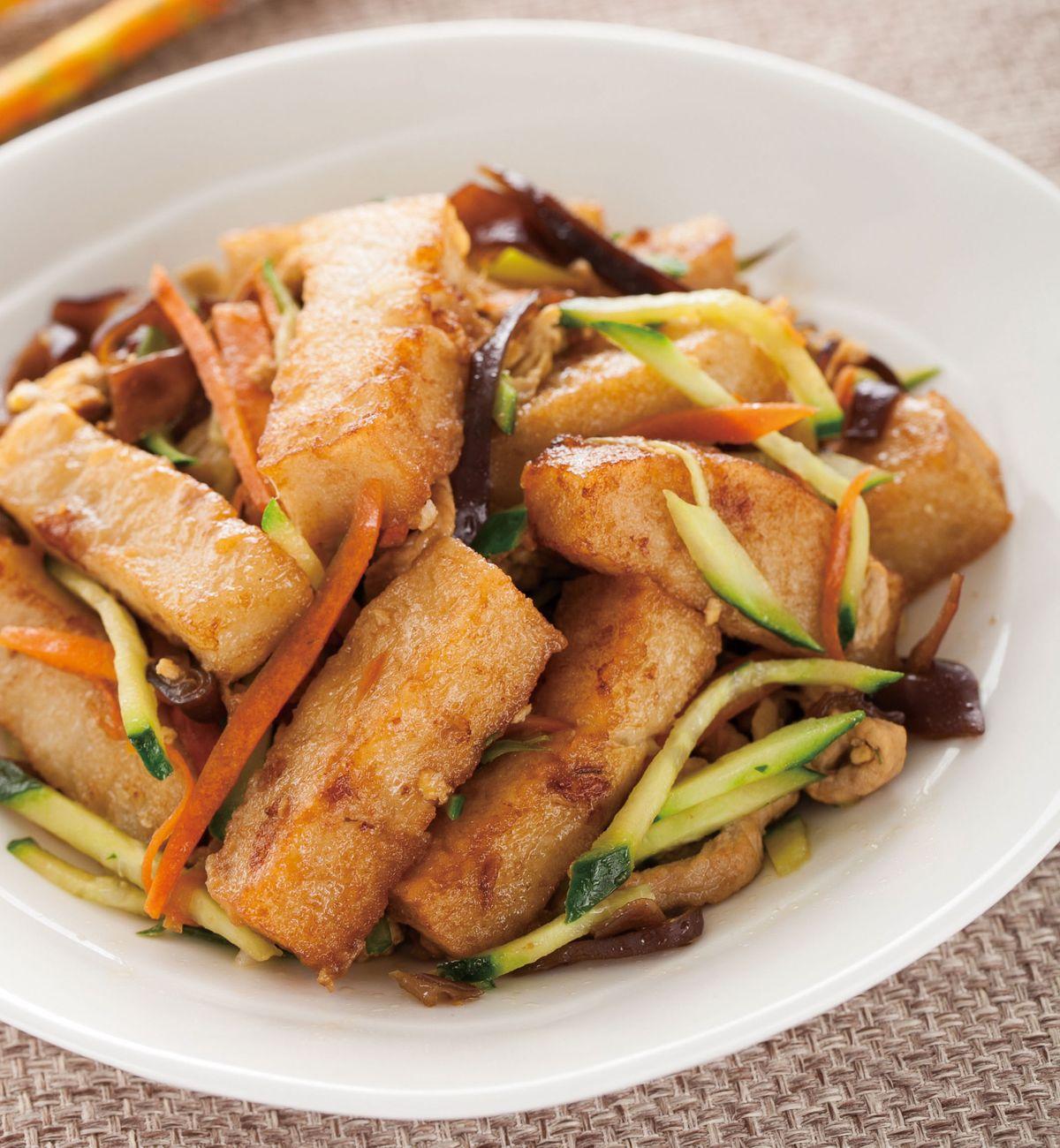 食譜:木須蘿蔔糕