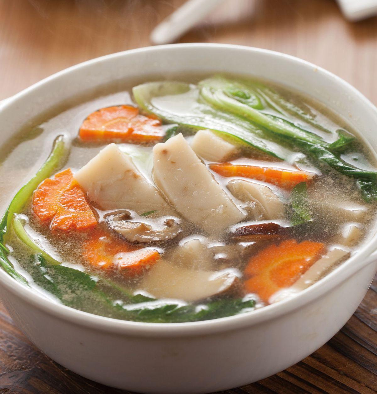 食譜:蘿蔔糕湯(4)