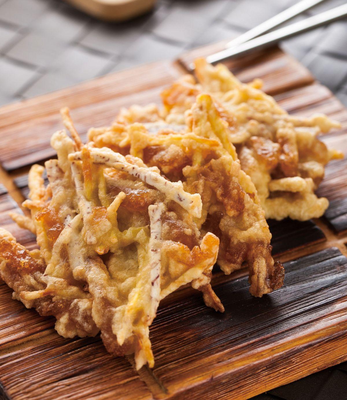 食譜:芋頭番薯炸年糕