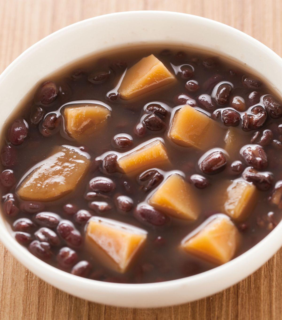 食譜:紅豆年糕湯