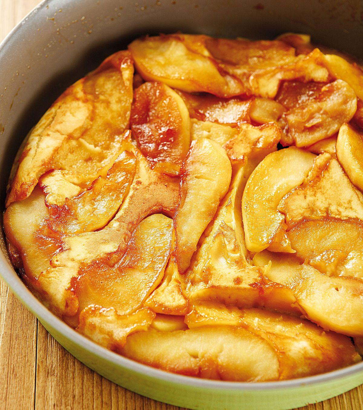食譜:焦糖蘋果蛋糕