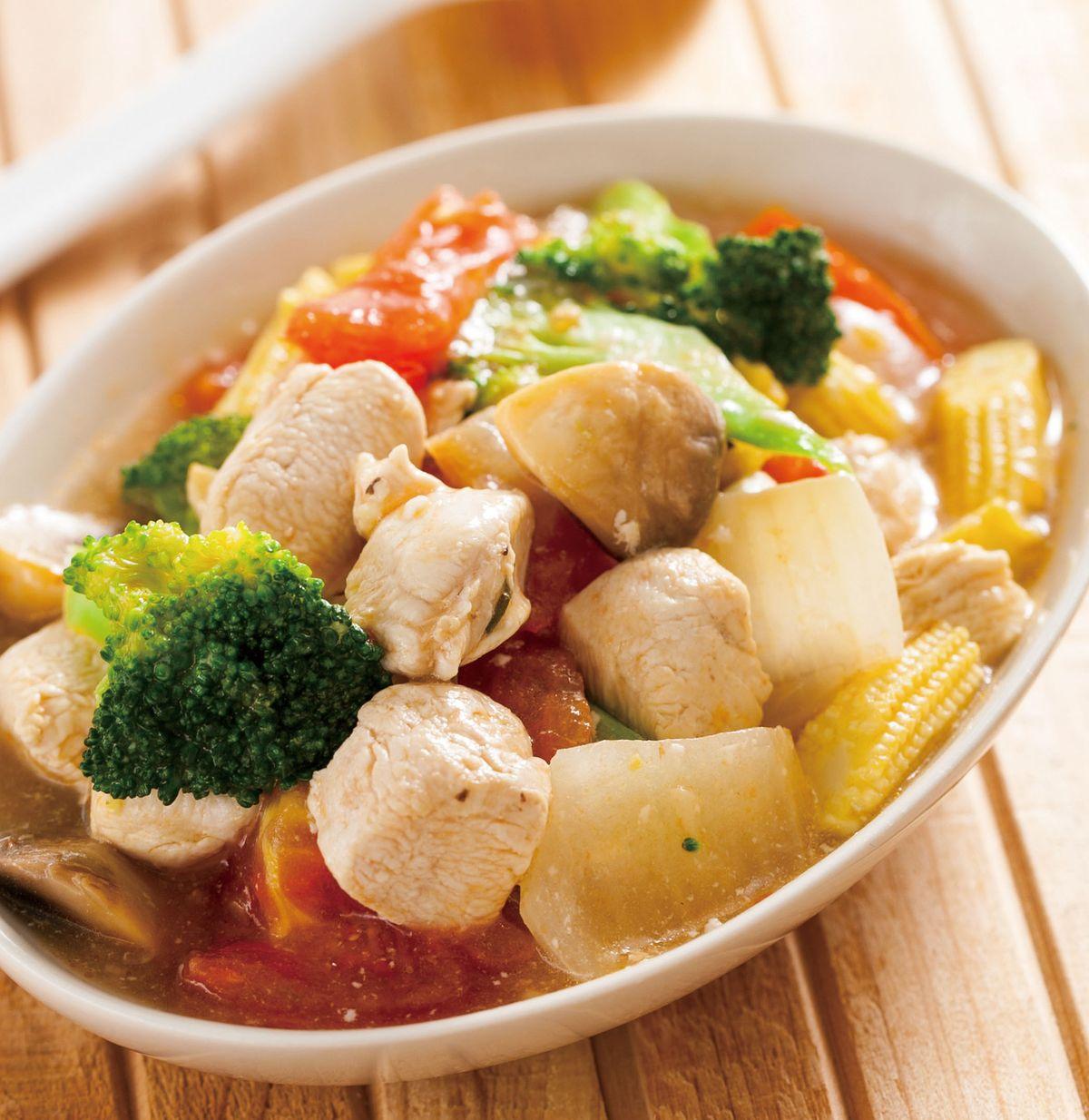 食譜:優格燴雞塊