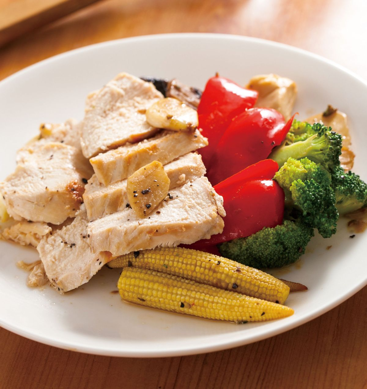 食譜:黑胡椒煎雞胸