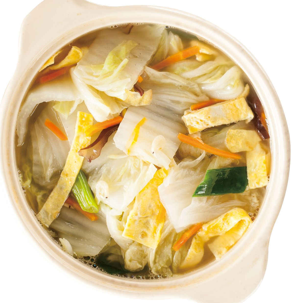 食譜:蛋皮滷白菜
