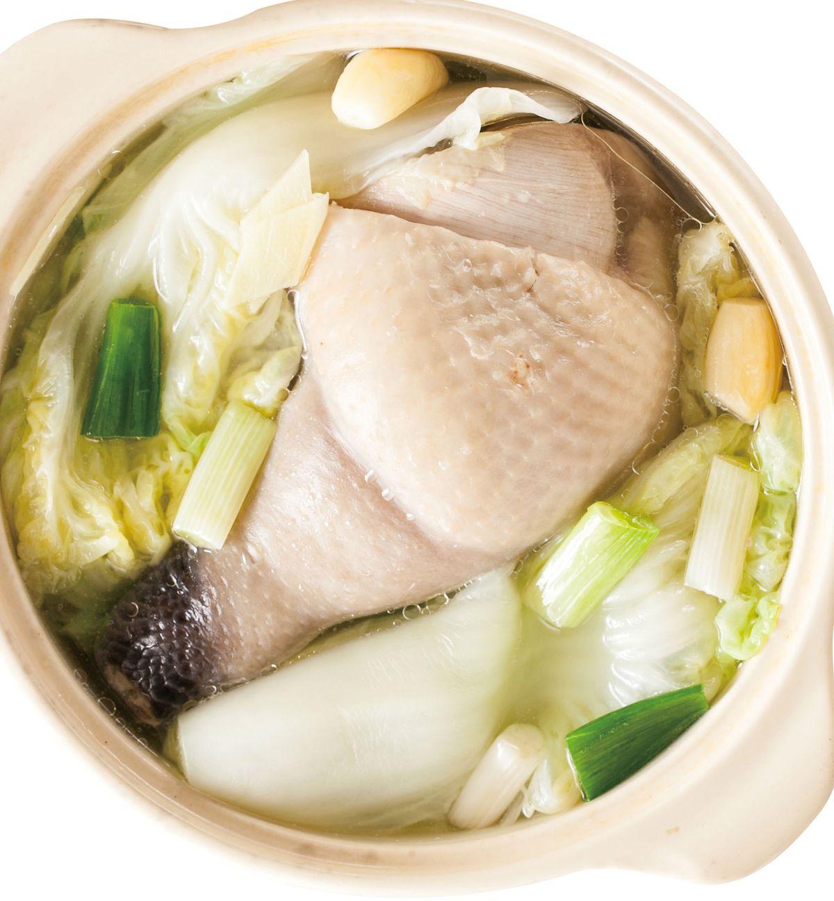 食譜:白菜燉雞(1)