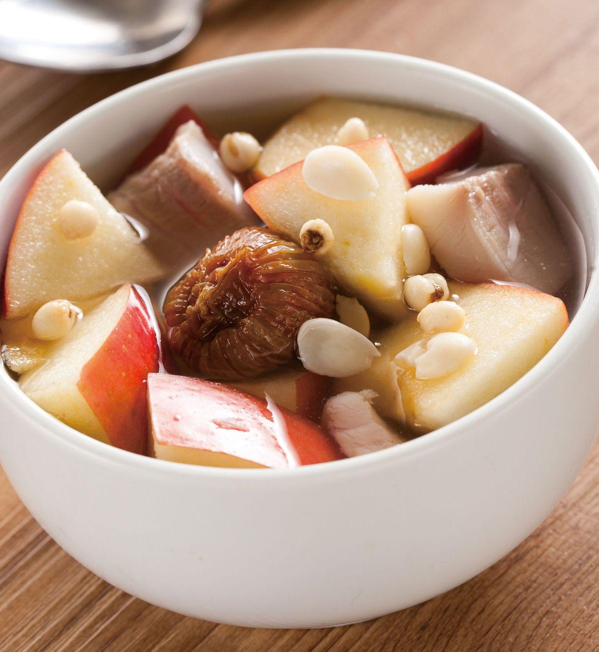 食譜:川貝南杏燉蘋果