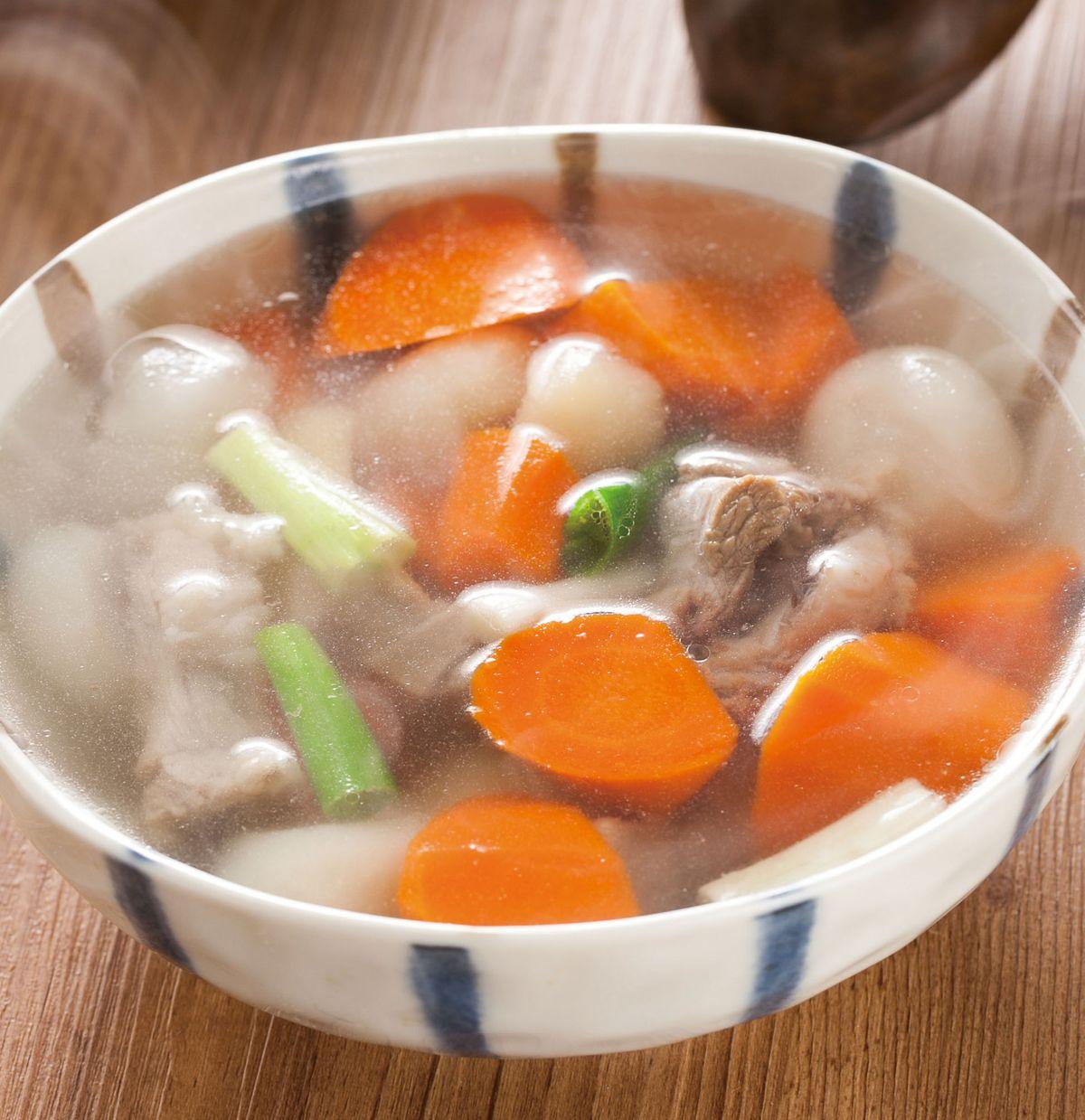 食譜:馬蹄蘿蔔燉排骨