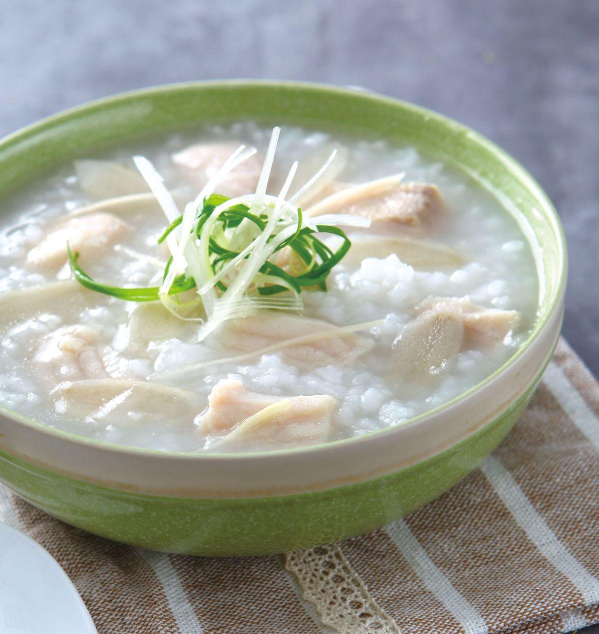 食譜:牛蒡魚片粥