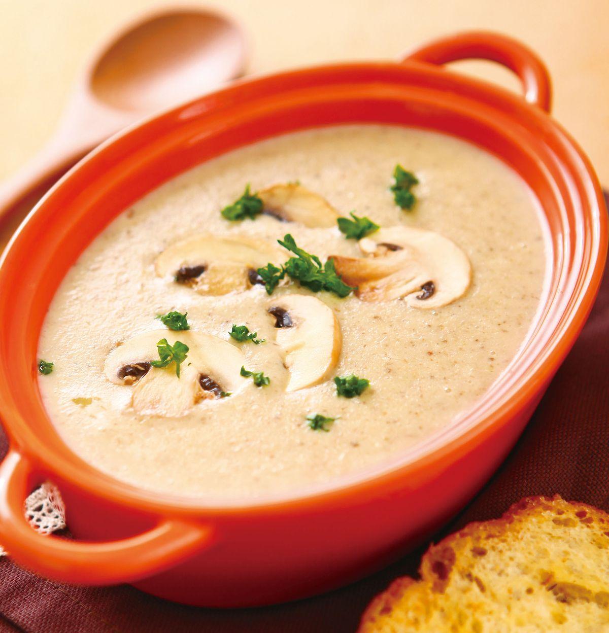 食譜:法式蘑菇濃湯