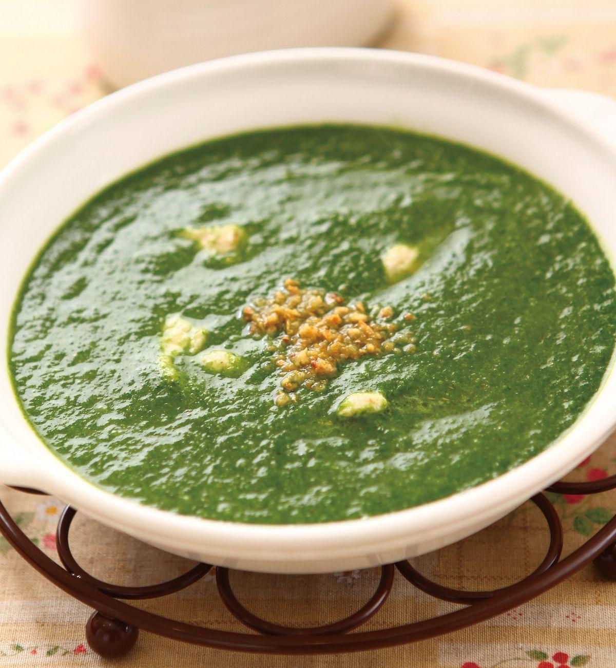 食譜:菠菜濃湯(1)