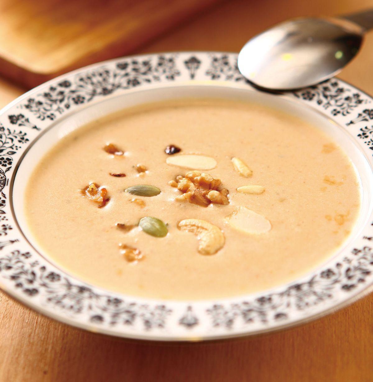 食譜:堅果濃湯