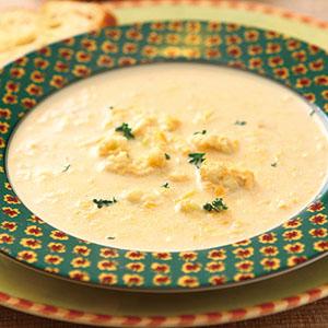 白花椰菜乳酪濃湯