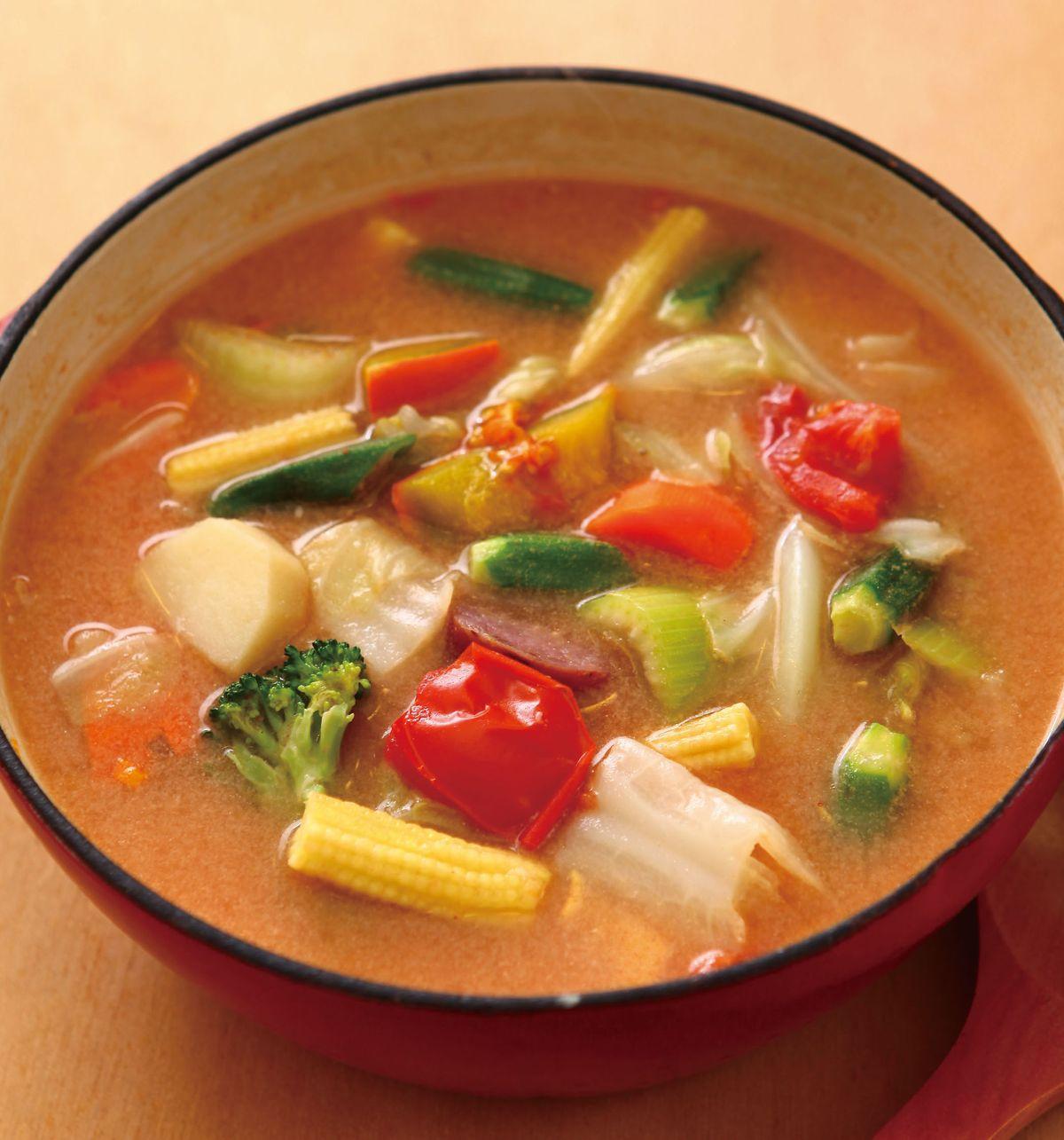 食譜:田園蔬菜濃湯