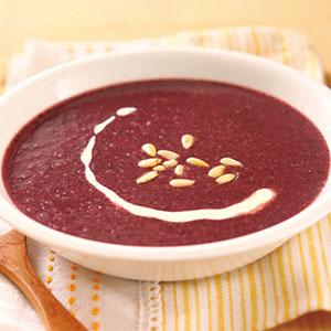 紫高麗濃湯