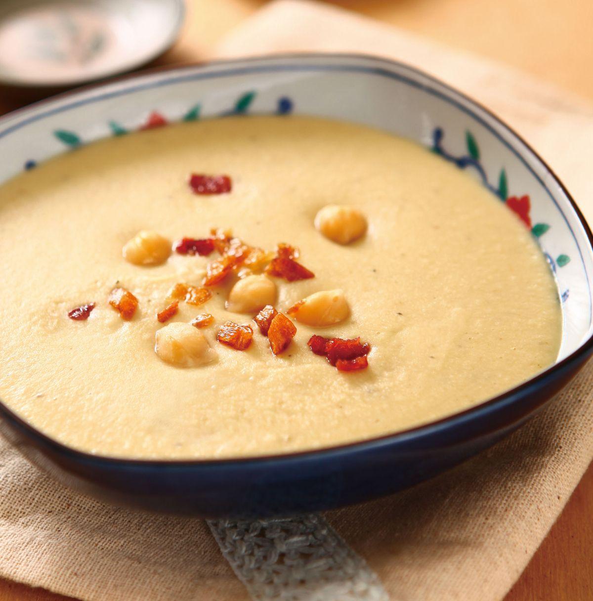 食譜:雪蓮子蔬菜濃湯