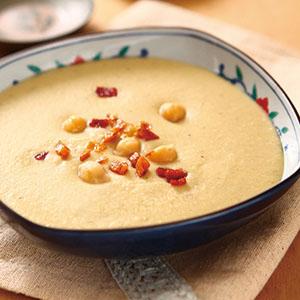 雪蓮子蔬菜濃湯