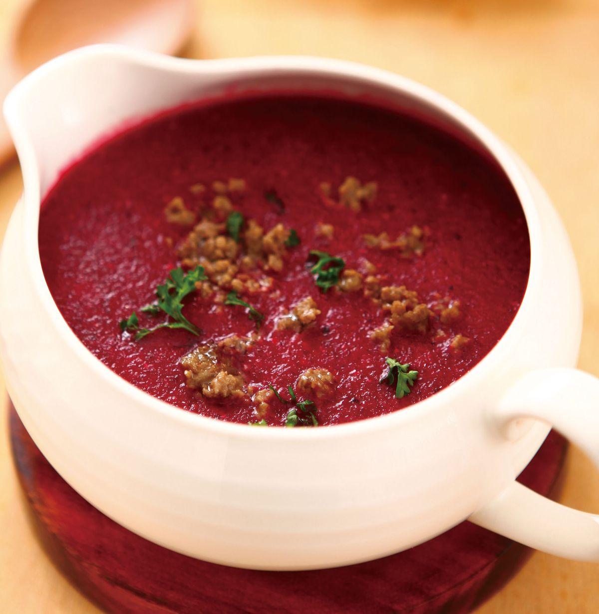 食譜:甜菜根牛肉濃湯