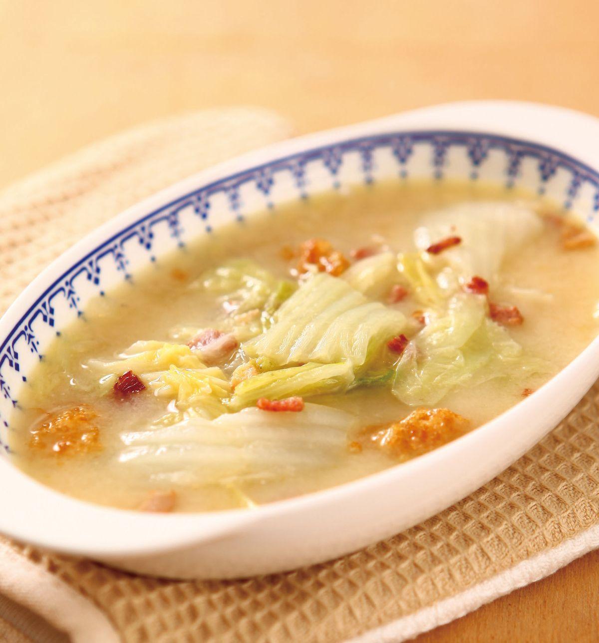 食譜:奶油白菜濃湯