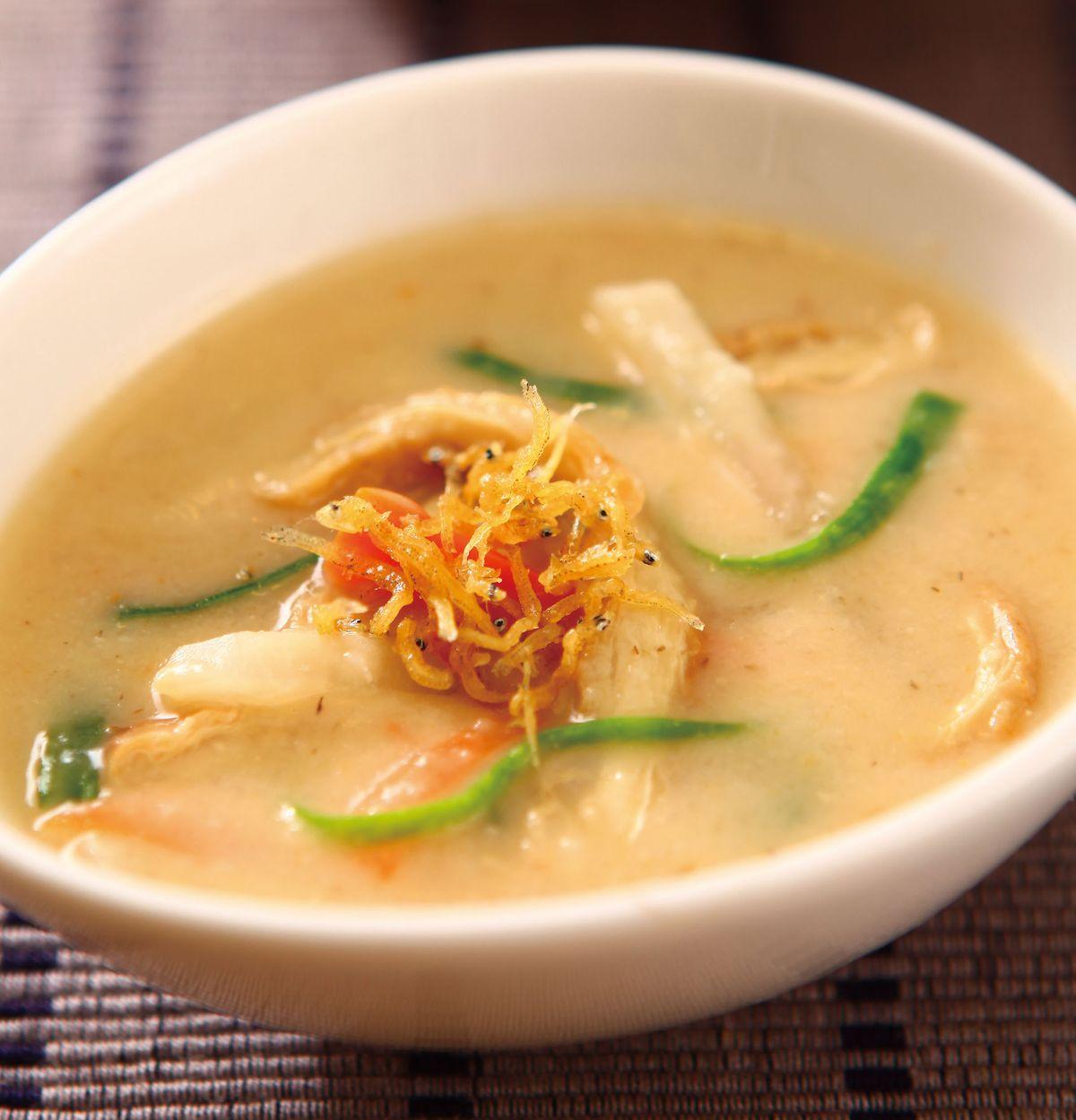 食譜:味噌蘿蔔蔬菜濃湯