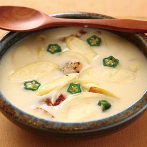 茭白筍鮮魚濃湯