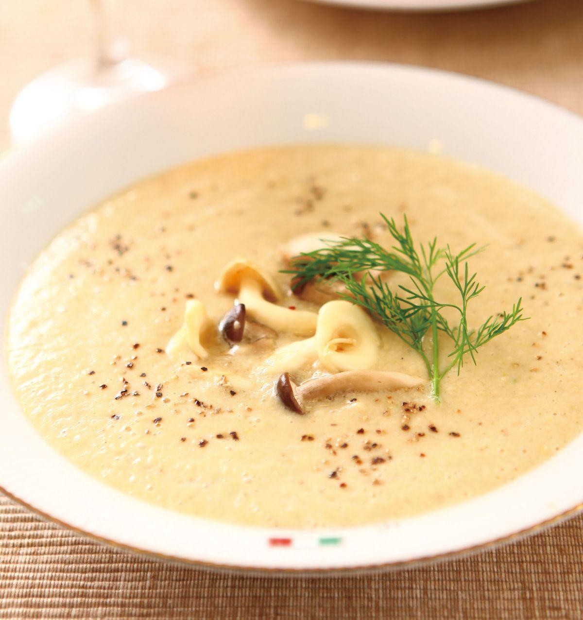 食譜:香料野菇濃湯