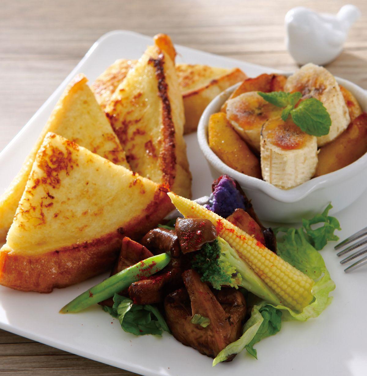 食譜:油醋熱野菇沙拉