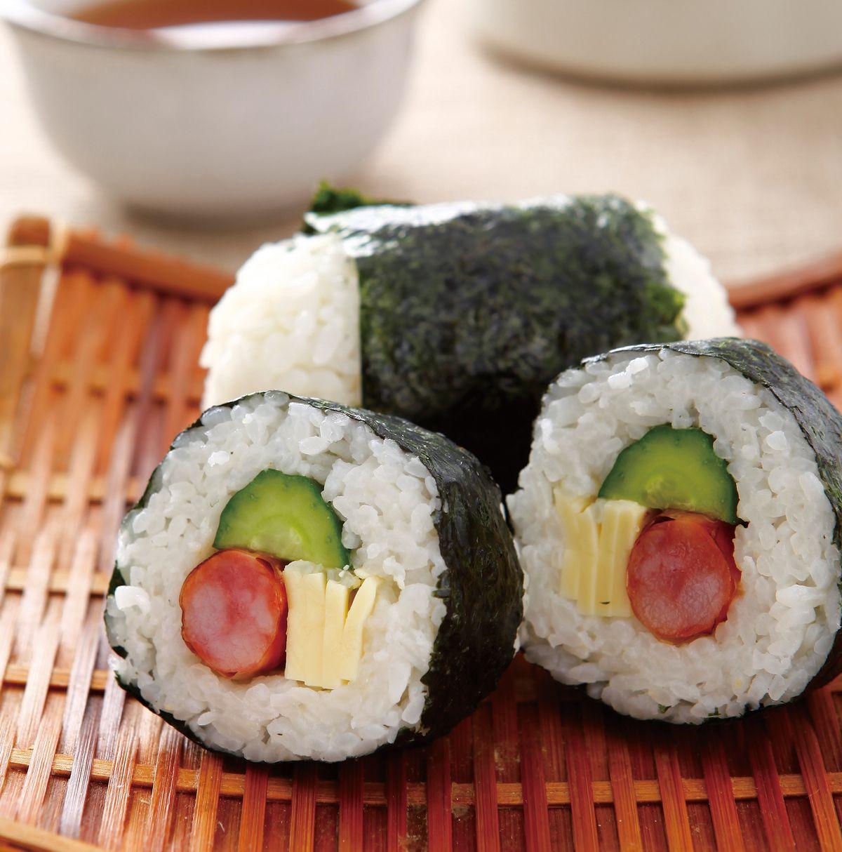 食譜:香腸起司飯糰
