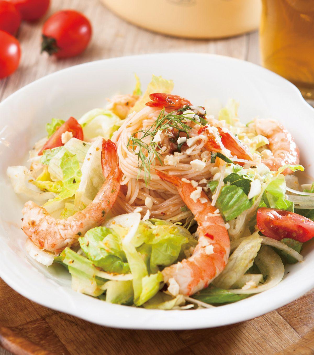 食譜:泰式鮮蝦沙拉(1)