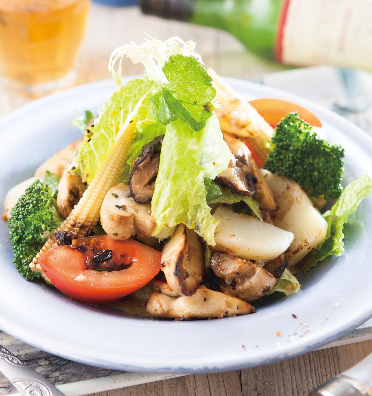 食譜:野菇馬鈴薯沙拉