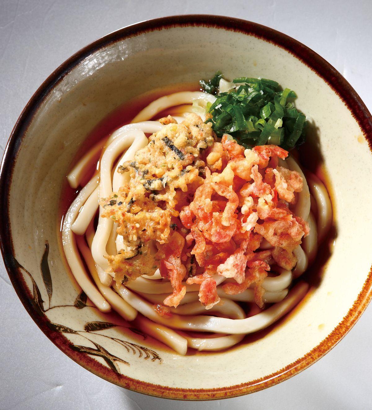 食譜:蝦酥烏龍麵