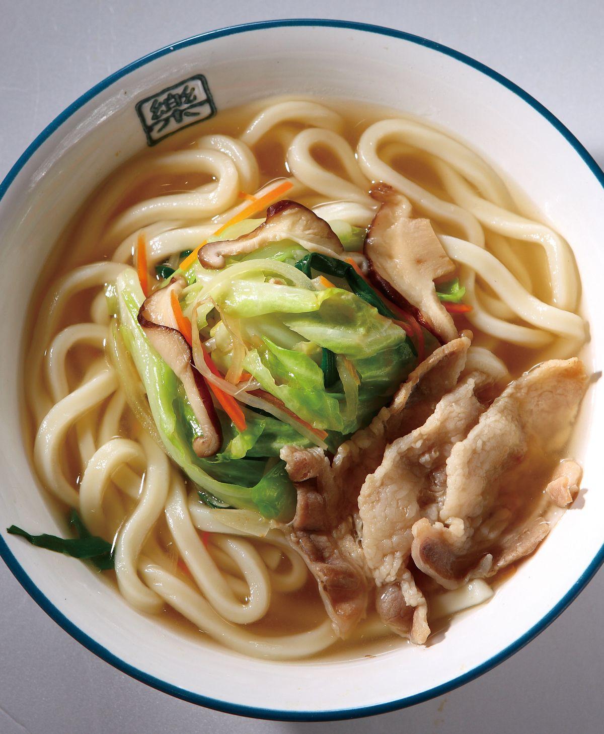 食譜:什錦野菜烏龍麵