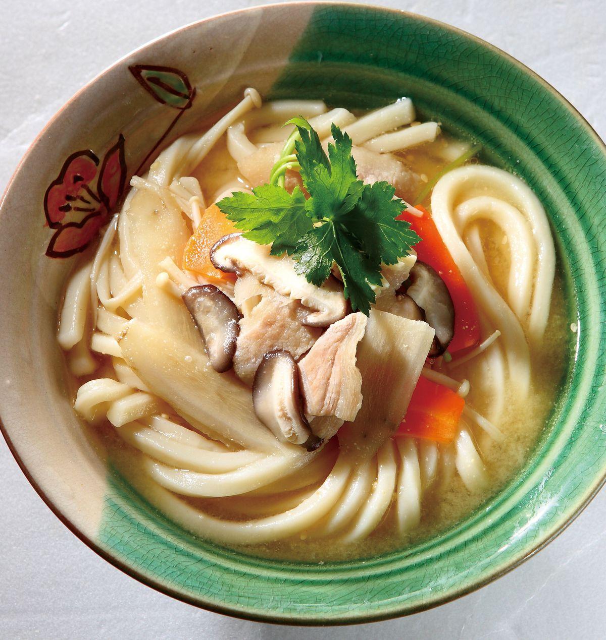 食譜:豚汁烏龍麵