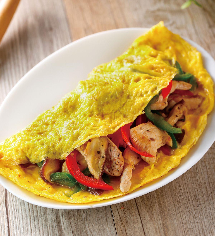 食譜:香草雞肉蛋捲