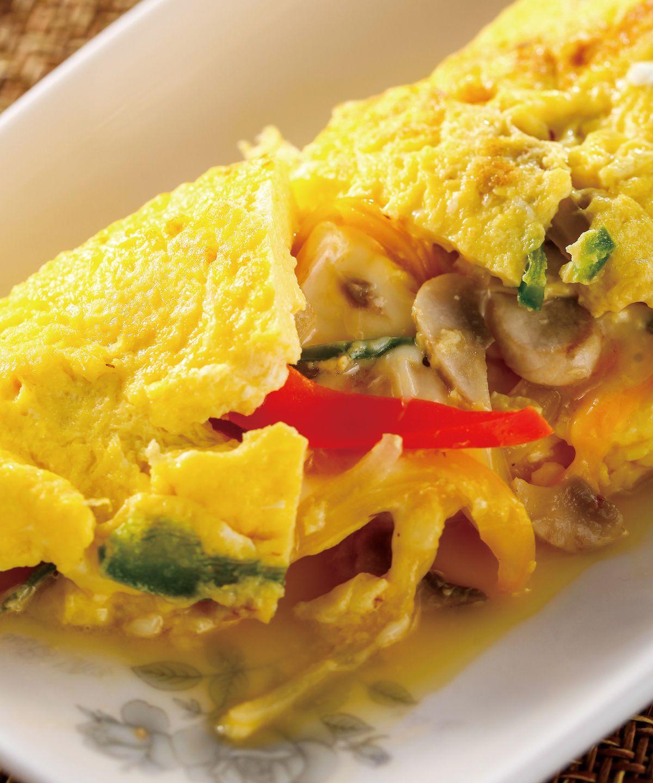 食譜:什錦蔬菜蛋捲