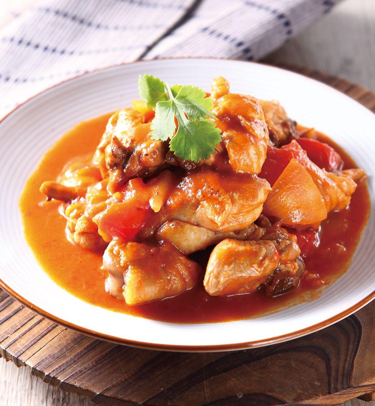 食譜:番茄燒雞肉