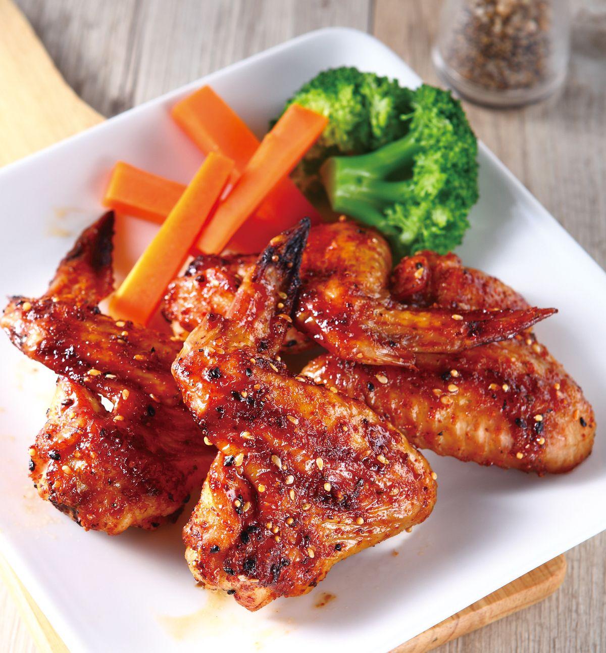 食譜:辣烤雞翅(1)