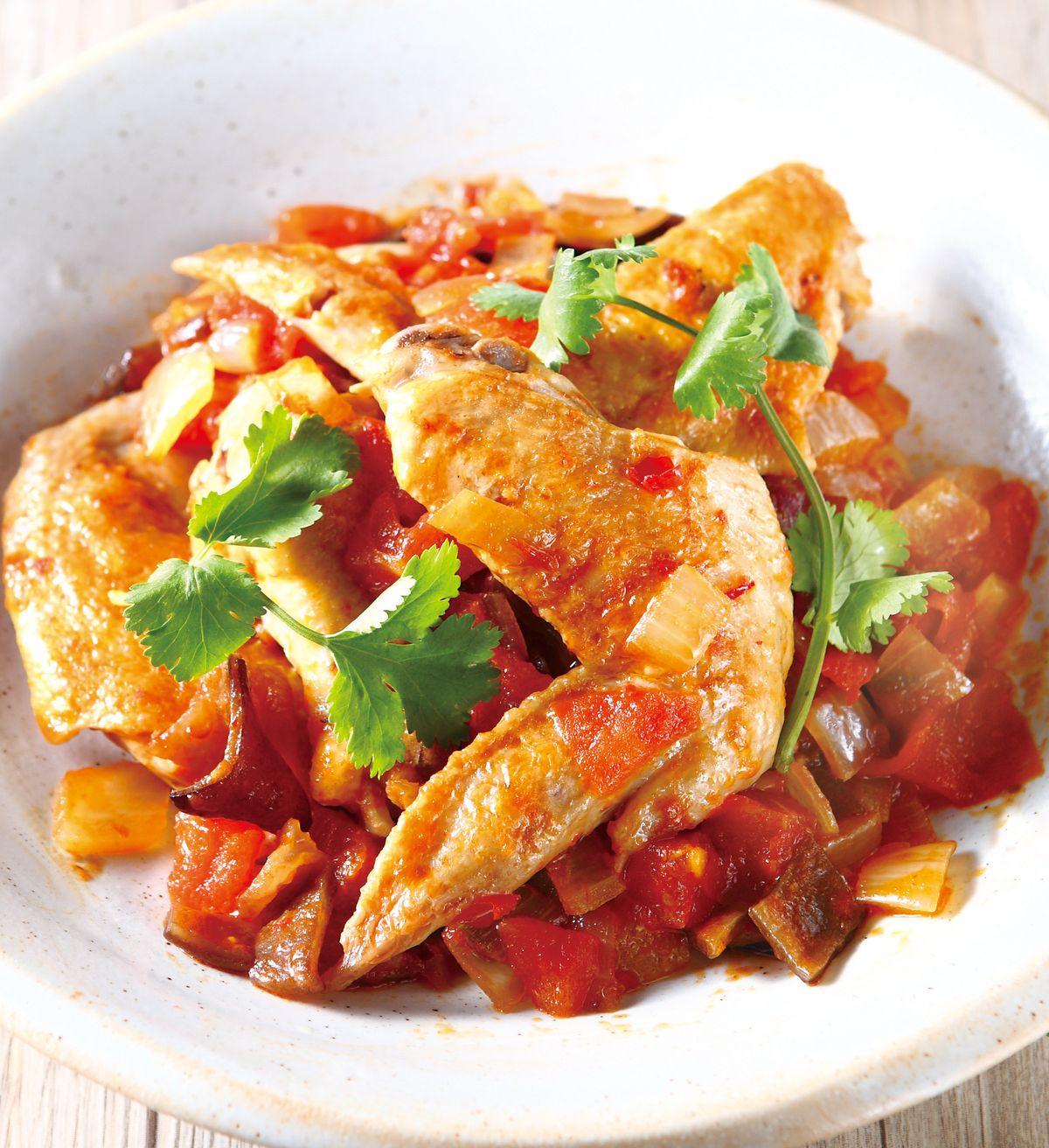 食譜:乾燒雞中翅