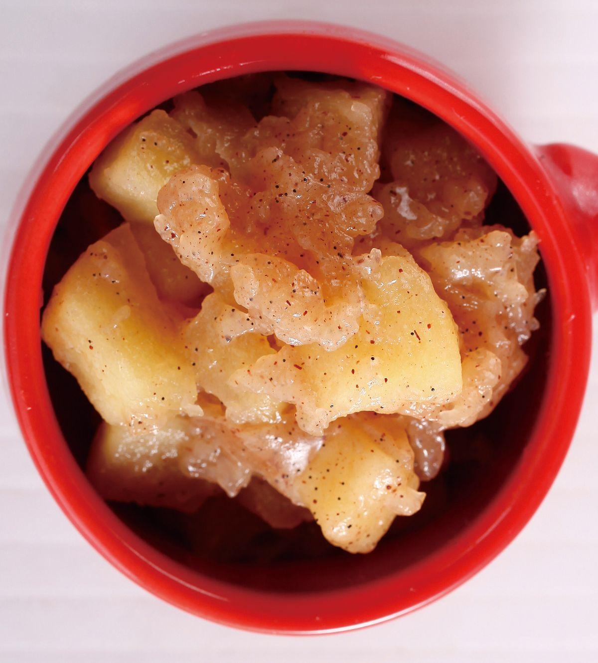 食譜:肉桂蘋果餡