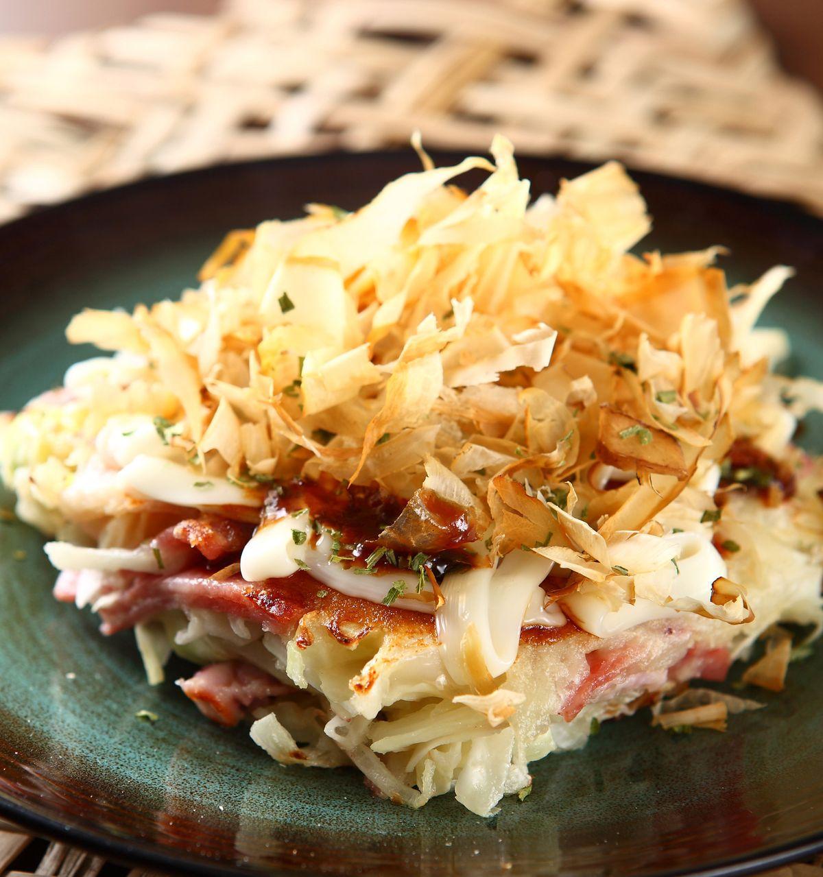 食譜:日式煎餅