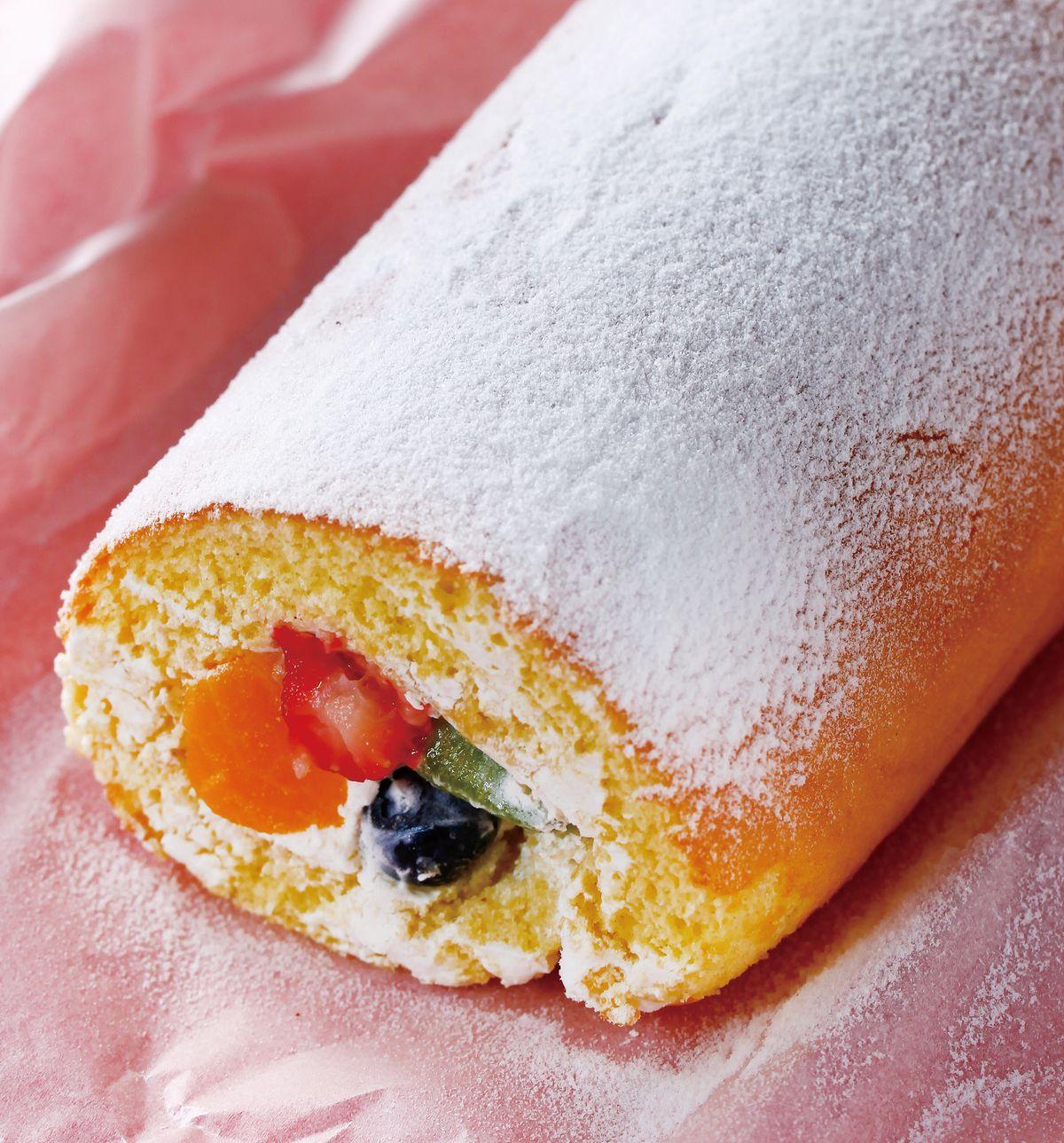 食譜:水果蛋糕卷
