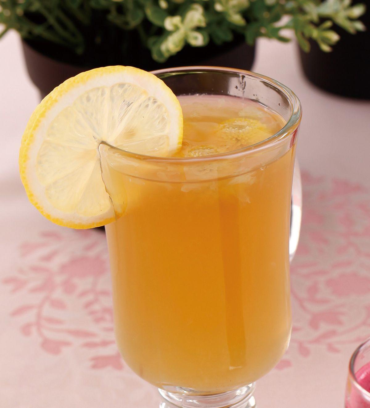 食譜:菊花甜檸檬汁