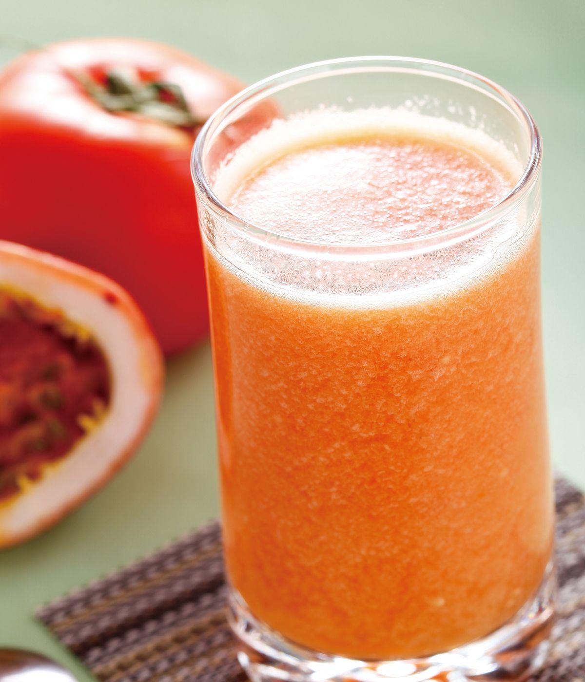 食譜:百香果番茄汁